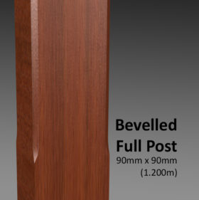 Bevelled Full Post CU