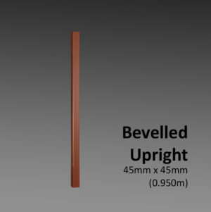 Bevelled Upright