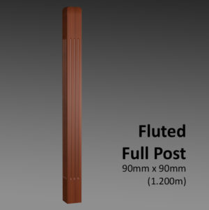 Fluted Full Post