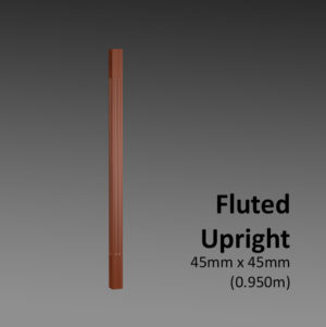 Fluted Upright