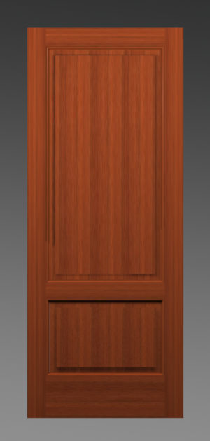 French Two Panel Door