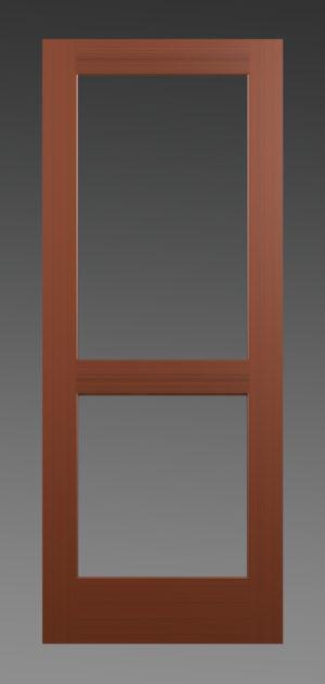 Two Pane Glass Door