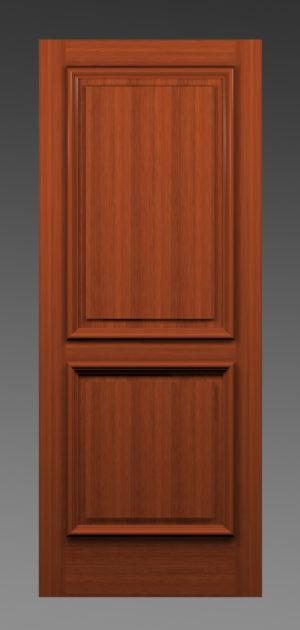 Two Panel Heavy Bolection Door